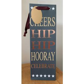 BOTTLE BAG HIP HIP HOORAY PK OF 6
