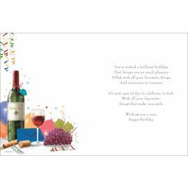 C80151 BIRTHDAY RED WINE