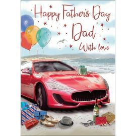 FATHERS DAY DAD SPORTS CAR