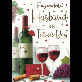 FATHERS DAY HUSBAND WINE