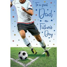 FATHERS DAY GREAT DAD FOOTBALL