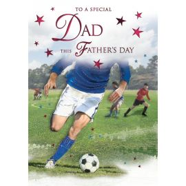 FATHERS DAY DAD FOOTBALL