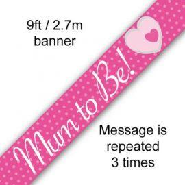 MUM TO BE BANNER 2.7M