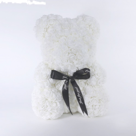 ARMOUR ROSE BEAR WHITE