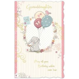 GRANDDAUGHTER MAY ALL YOUR BIRTHDAY WISHES COME TRUE CODE 125