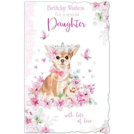 BIRTHDAY WISHES FOR A SPECIAL DAUGHTER CODE 125