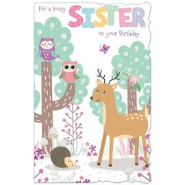 FOR A LOVELY SISTER ON YOUR BIRTHDAY CODE 125