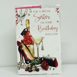 FOR A SPECIAL SISTER ON YOUR BIRTHDAY CODE 75