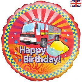 18 INCH FIRE ENGINE BIRTHDAY
