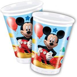 PLASTIC CUPS 200 ML 8 CT PLAYFUL MICKEY