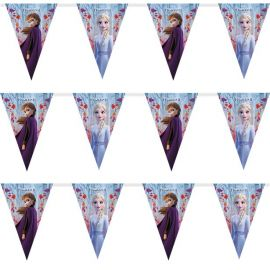FROZEN 2 TRIANGLE FLAG BANNER - QUALATEX