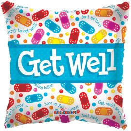18 INCH GET WELL SOON PILLOW