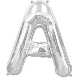 16 INCH AIR FILL SILVER LETTER A