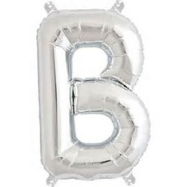 16 INCH AIR FILL SILVER LETTER B