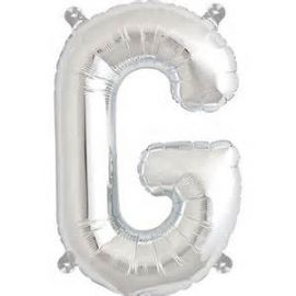 16 INCH AIR FILL SILVER LETTER G