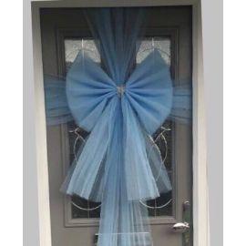 BABY BLUE DOOR BOW