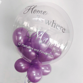 HOME IS WHERE MUM IS BUBBLE