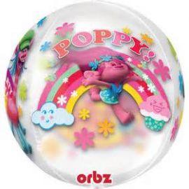 ORBZ TROLLS POPPY SEE-THRU