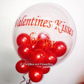 VALENTINES KISS BUBBLE
